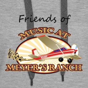 Friends of Music At Meyer's Ranch - Women's Premium Hoodie