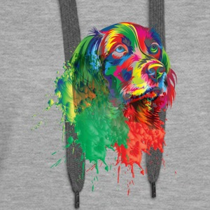 GIFT - DOG SPLASH - Women's Premium Hoodie
