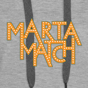 Marta Match Game - Women's Premium Hoodie