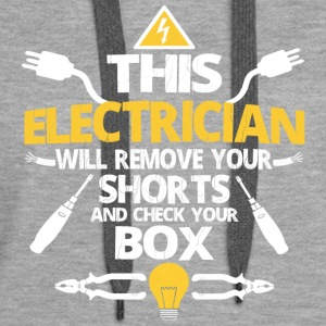 This ELECTRICIAN - Women's Premium Hoodie