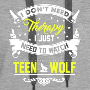 Watch Teen Wolf - Women's Premium Hoodie