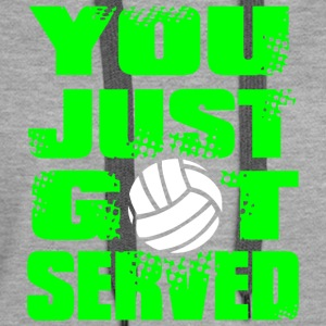 SERVED Volley Ball - Women's Premium Hoodie