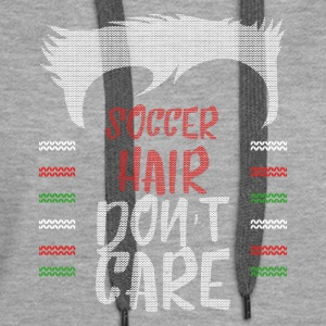 Ugly sweater christmas gift for soccer - Women's Premium Hoodie
