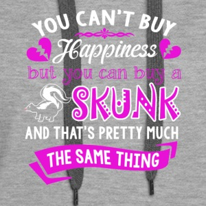 Skunk Is Happiness Shirt - Women's Premium Hoodie