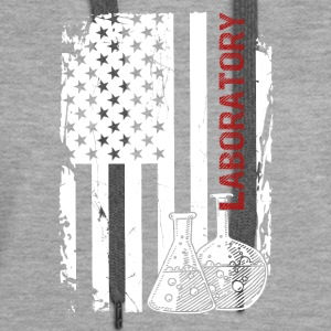 Laboratory Flag Shirt - Women's Premium Hoodie