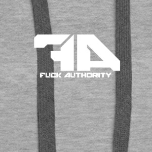 Fuck Authority. - Women's Premium Hoodie