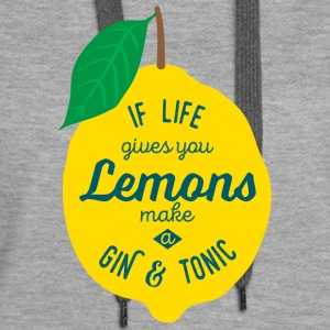 Gin and Tonic - Women's Premium Hoodie