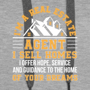 Real Estate Agent Sell Home Hope Service - Women's Premium Hoodie
