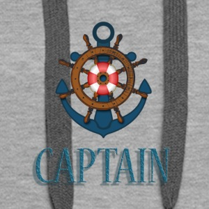 Nautical Captain - Women's Premium Hoodie