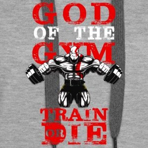 GOD OF THE GYM - Women's Premium Hoodie