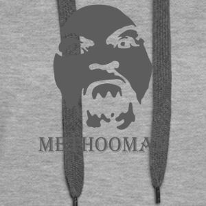 Method Man airbrush Stencil - Women's Premium Hoodie
