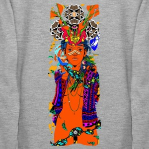 The trippy lady - Women's Premium Hoodie