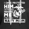 Proud Navy Mom Shirts - Women's Premium Hoodie