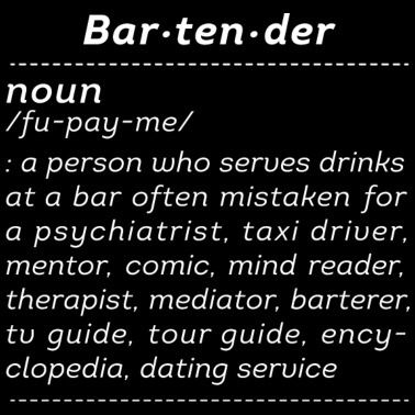 God Made Bartenders Women's Premium Hoodie | Spreadshirt