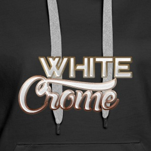 White Chrome - Women's Premium Hoodie