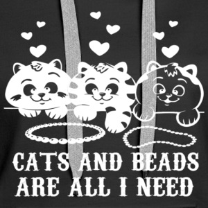 CATS AND BEADS - Women's Premium Hoodie
