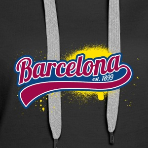 Soccer League Spanien Barcelona 1899 Gift Spain - Women's Premium Hoodie