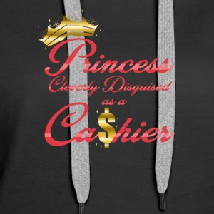 Princess Cleverly Disguised as a Cashier Retail - Women's Premium Hoodie