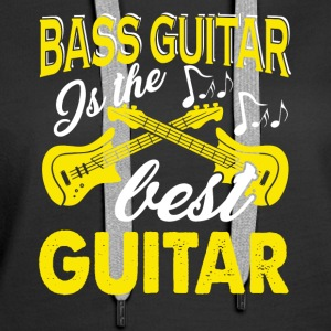 Bass Guitar Tee Shirt - Women's Premium Hoodie