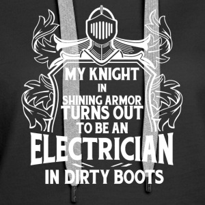 My Knight In Shining Armor T Shirt - Women's Premium Hoodie