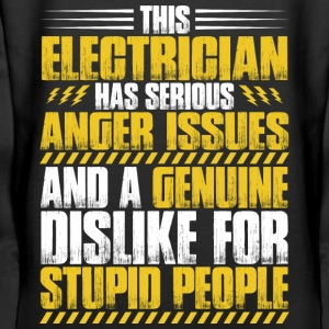 Electrician/Sparky/Electrical Worker/Technician - Women's Premium Hoodie