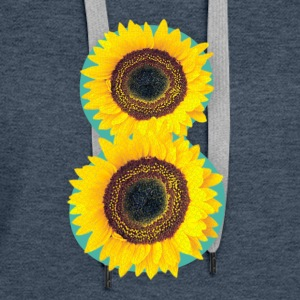 8 Exabytes Sunflower by GVD - Women's Premium Hoodie