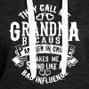 They call me Grandma because partner in crime - Women's Premium Hoodie