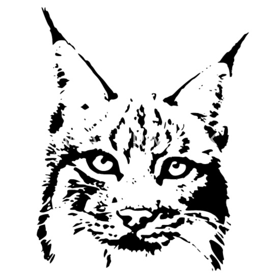 Lynx Cougar Puma Jaguar Cat Wild Bobcat Kids Longsleeve Shirt