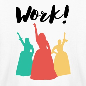 Girls Work! - Kids' Long Sleeve T-Shirt