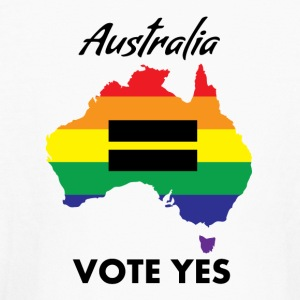 VOTE YES AUSTRALIA EQUALITY - Kids' Long Sleeve T-Shirt
