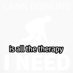 Lawn Bowling is my therapy - Kids' Long Sleeve T-Shirt