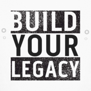 Build Your Legacy - Tri-X - Kids' Long Sleeve T-Shirt