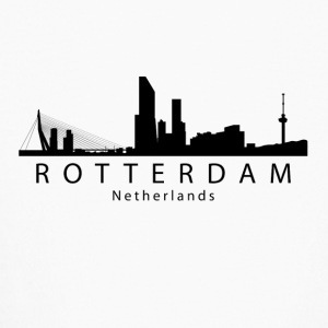 Rotterdam Netherlands Skyline - Kids' Long Sleeve T-Shirt