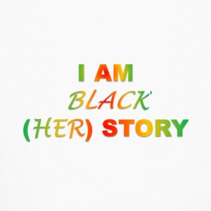 I AM BLACK HER STORY - Kids' Long Sleeve T-Shirt