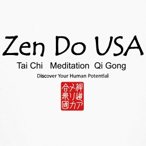 Zen Do USA logo and cell phone clothing busshist - Kids' Long Sleeve T-Shirt