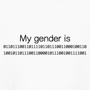 My Gender Is (nonbinary) In Binary - Kids' Long Sleeve T-Shirt