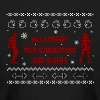 All I Want For Christmas Are Gains Ugly Sweater - Kids' Long Sleeve T-Shirt