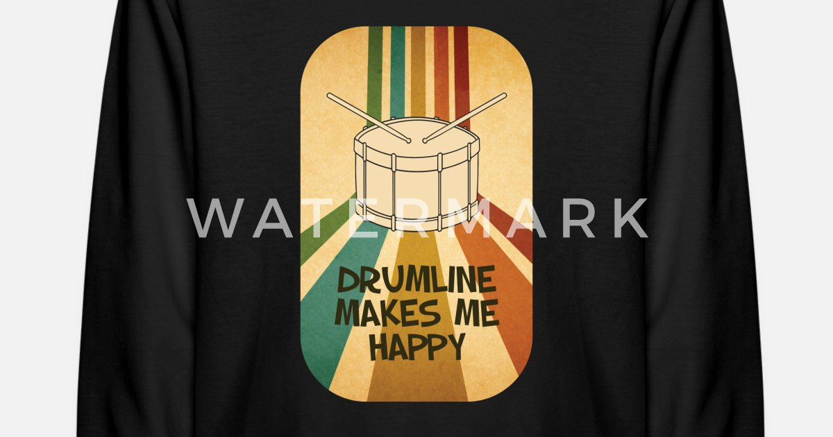 Drumline Drums Drumming Marching Band Drummer Gift Kids' Longsleeve Shirt |  Spreadshirt