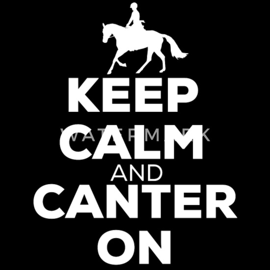 Kids Keep Calm /& Canter On Hoodie Childrens Equestrian Horse Lover Gift Hooded
