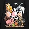 Funny Farm Animals - Kids' Long Sleeve T-Shirt