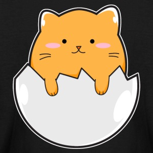 Yellow Cat Egg - Kids' Long Sleeve T-Shirt
