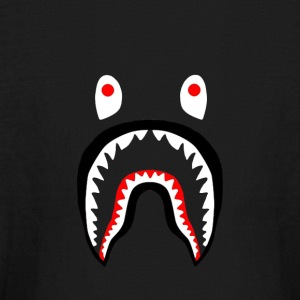 bape shark - Kids' Long Sleeve T-Shirt