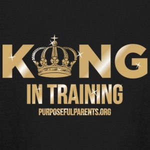 King in Training - Kids' Long Sleeve T-Shirt