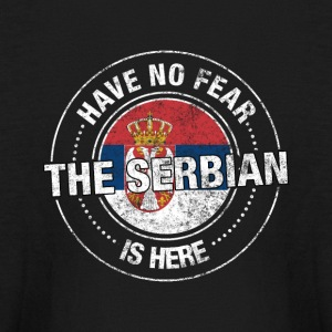 Have No Fear The Serbian Is Here - Kids' Long Sleeve T-Shirt