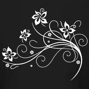 Beautiful, filigree flowers. Floral element. - Kids' Long Sleeve T-Shirt
