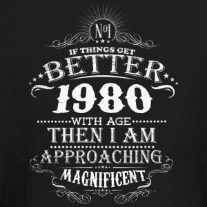 Made in 1980 I am approaching magnificent - Kids' Long Sleeve T-Shirt