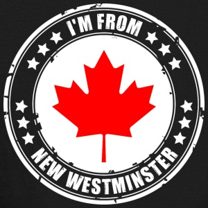 I'm from NEW WESTMINSTER - Kids' Long Sleeve T-Shirt