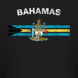 Bahamas Flag Shirt - Bahamas Emblem & Bahamas Flag - Kids' Long Sleeve T-Shirt