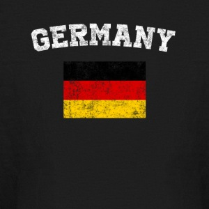 German Flag Shirt - Vintage Germany T-Shirt - Kids' Long Sleeve T-Shirt