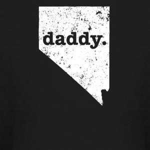 Funny Daddy Nevada Daddy To Be - Kids' Long Sleeve T-Shirt